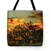 Wildfire C-130  Tote Bag