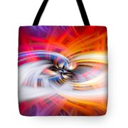 Wildfire Lights Tote Bag