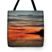 Wildfire Smoke Tote Bag