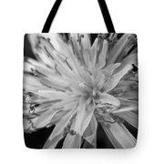 Wildflower 5 Black N White Tote Bag