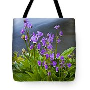 Wildflower Cascade Tote Bag by Mike  Dawson