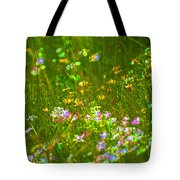 Wildflower Field Tote Bag