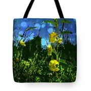 Wildflower Field Tote Bag