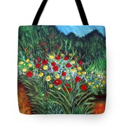 Wildflower Garden 1 Tote Bag