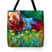 Wildflower Grizz II Tote Bag