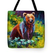 Wildflower Grizz Tote Bag