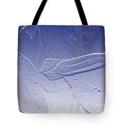 Wildflower In Blue Tote Bag