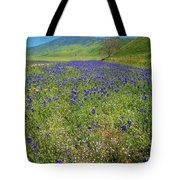 Wildflower Mix At Tejon Ranch Tote Bag