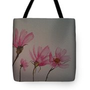 Wildflower Pink Tote Bag by Ginny Youngblood