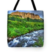 Wildflower River Tote Bag