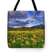 Wildflower Storm Tote Bag