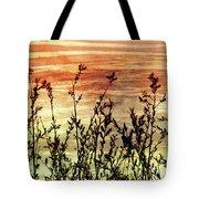 Wildflower Sunrise Tote Bag