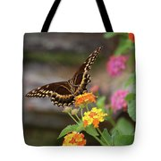 Wildflower Swallowtail Tote Bag