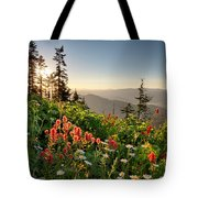 Evening Kisses Tote Bag