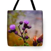 Wildflower Watercolour Tote Bag