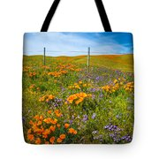 Wildflower Wonders Of The High Desert Tote Bag