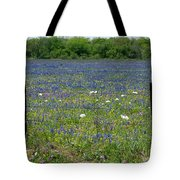 Wildflowers - Blue Horizon Too Tote Bag
