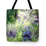 Wildflowers And Cactuses Tote Bag