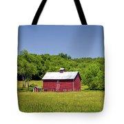 Wildflowers Barn Tote Bag