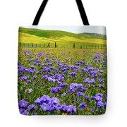 Wildflowers Carrizo Plain Tote Bag