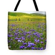 Wildflowers Carrizo Plain National Monument Tote Bag