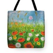 Wildflowers Field Tote Bag