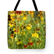 Wildflowers Four Tote Bag