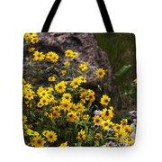 Wildflowers Honoring Mary Jabens Tote Bag
