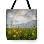 Wildflowers In Crested Butte Tote Bag
