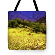 Wildflowers In The San Emigdio Mountains Tote Bag