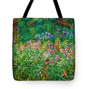 Wildflowers Near Fancy Gap Tote Bag