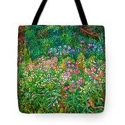 Wildflowers Near Fancy Gap Tote Bag