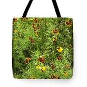 Wildflowers Nine Tote Bag