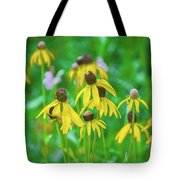 Wildflowers Of Yellow Tote Bag