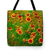 Wildflowers On The Barb Tote Bag