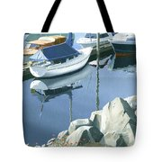 Wildflowers On The Breakwater Tote Bag