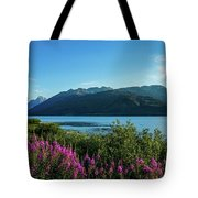 Wildflowers On The Edge Tote Bag