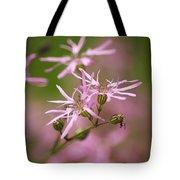 Wildflowers - Ragged Robin Tote Bag