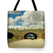 Wildlife Crossing Tote Bag