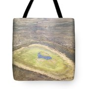 Wildlife Gathers In The Flooded Pans Tote Bag