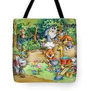 Wildlife Party Tote Bag
