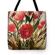 Wildly Red Tote Bag