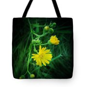 Wildly Yellow Tote Bag