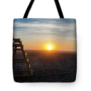 Wildwood New Jersey - Peaceful Morning Tote Bag