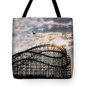 Wildwood Roller Coaster Tote Bag