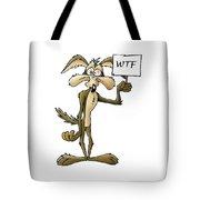 Wile E Coyote Tote Bag