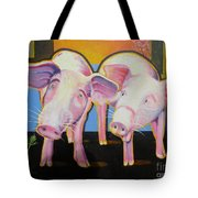 Wiley And  Mut Tote Bag by Christine Belt
