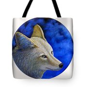 Wiley Coyote Tote Bag by Brian  Commerford