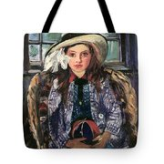 Wilhelmine With Ball 1915 Tote Bag