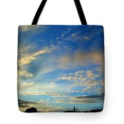 Wilkes Barre Sunset Two Tote Bag